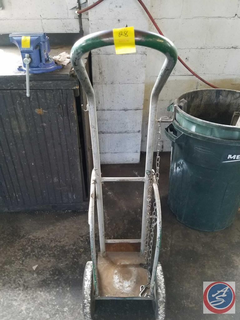 Lot: Oxy-Acetylene Torch Bottle Cart    Proxibid Auctions