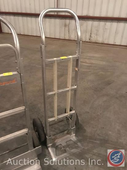 Wesco aluminum hand truck.