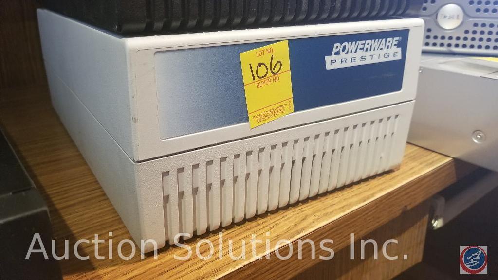 Powerware prestige uninterruptible power supply white