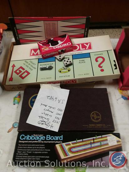 4) Vintage Board Games: 1953     Auctions Online | Proxibid