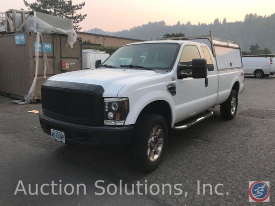 2008 Ford F-350 Pickup Truck, VIN # 1FTSX31568EB26149
