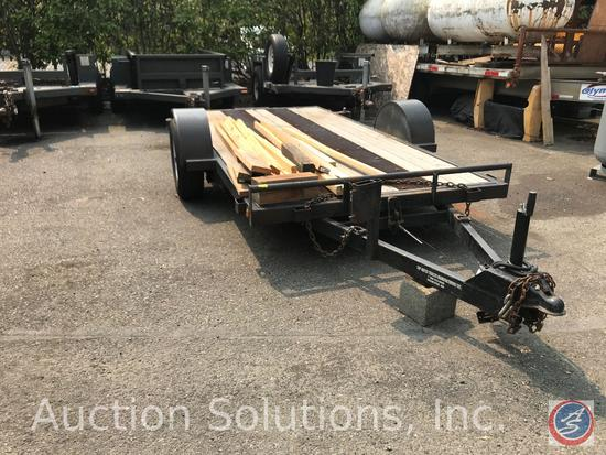 Year: 2017 Make: Top Notch Trailer Mfg. Inc. Vehicle Type: Trailer Body Type: Flatbed with wooden