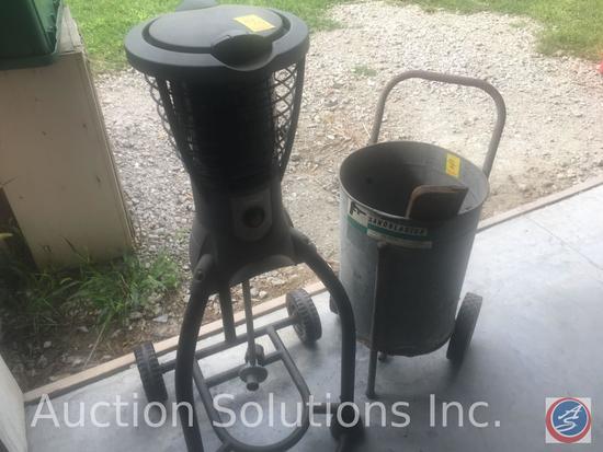 Sears Utility Sandblaster Barrel Model Number 106.168140 and Coleman Gas Powered Bug Zapper 2910800