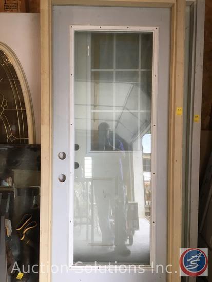Storm Door with Casing