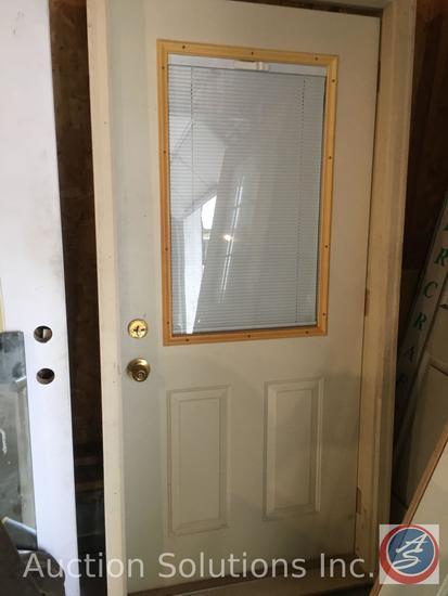Prehung Exterior door with casing