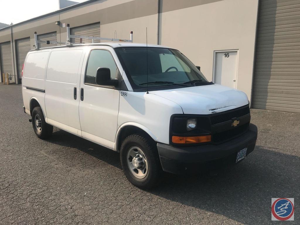 2015 Chevrolet Express Van, VIN # 1GCWGFCG9F1104779