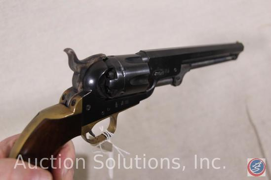 Euro Arms Brescia Model 1851 Navy 36 cal Revolver Black