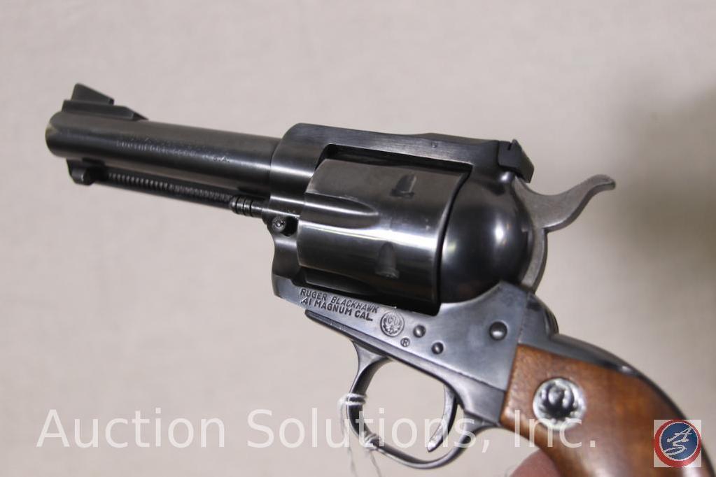 Lot: Ruger Model Blackhawk 41 Rem  Mag  Revolver Single