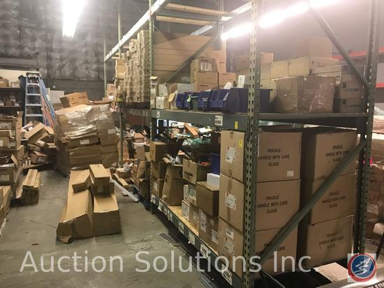 Contents of Pallet Racking {{DOES NOT INCLUDE PALLET RACKING, THAT IS SOLD SEPERATELY}} Includes