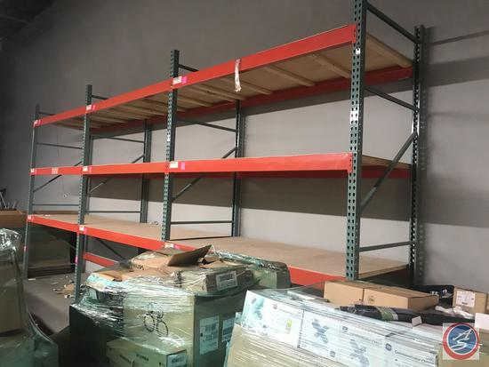 (3) Sections of Pallet Rack That includes (4) 144 inch by 48 inch uprights, (18) 96 inch beams and