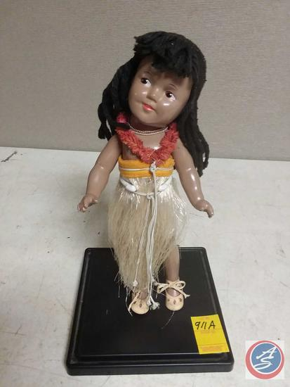 Antique doll purchased in Hawaii during Pearl Harbor