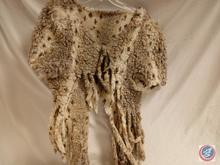 Primitive Fur Shawl