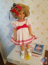 Shirley Temple Porcelain Doll with Original box