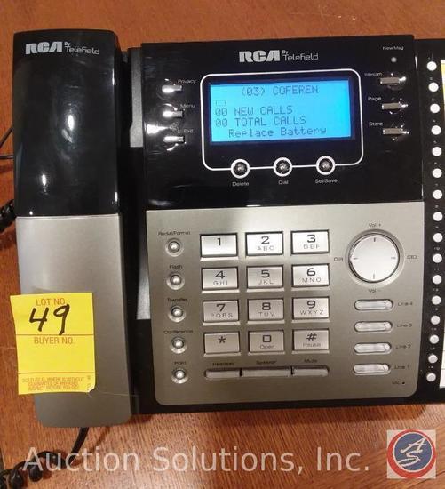 6] Brand New RCA 4-line Speak    Auctions Online | Proxibid