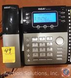 [6] Brand New RCA 4-line Speaker Phones w/ Caller ID