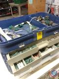 Tackle Box - Tools and Replacement Christmas Light Bulbs