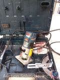 Bosch variable speed Palm Router w/ 2 bits in Case