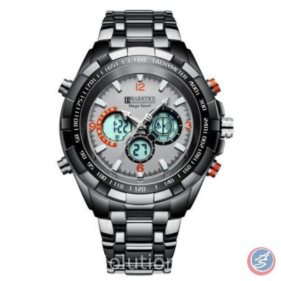 Mega Sport Grey Wrist Watch