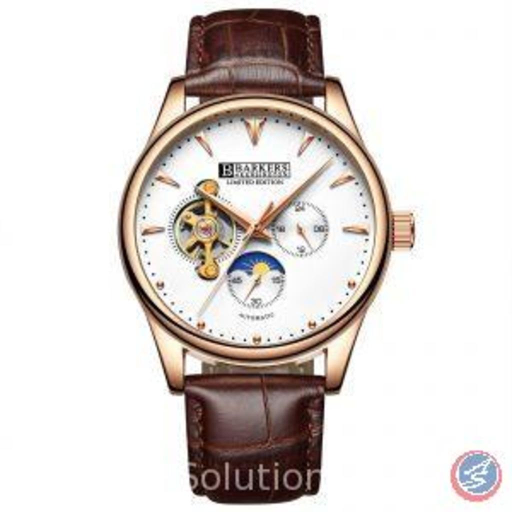 Automatic Rose Wrist Watch