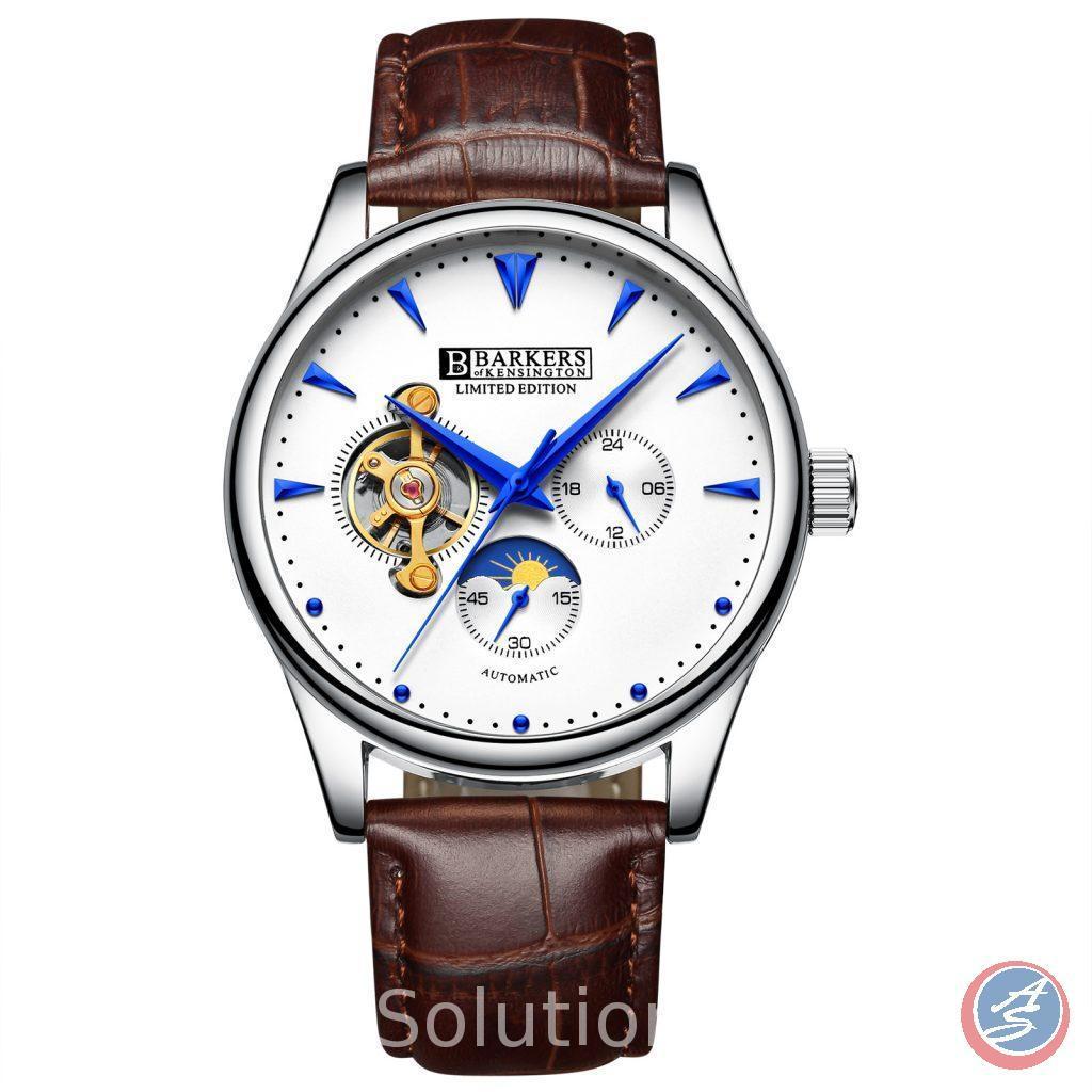 Automatic Steel Wrist Watch