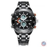Premier Sport Black Wrist Watch