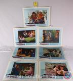 (8) Vintage Lobby Cards from 1966 Movie 'Stagecoach' 66/132