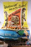 'Up Front' 1951 Vintage Movie Poster, 57/150 {{SOME WEAR AND TEAR}}
