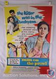 'Man on the Prowl' 1957 Vintage Movie Poster, 8495, 57/613
