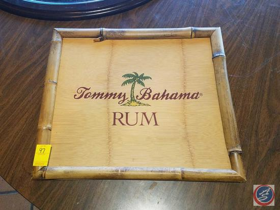 Bamboo Tommy Bahama Rum Sign