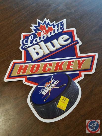 Labatt Blue Hockey Sign