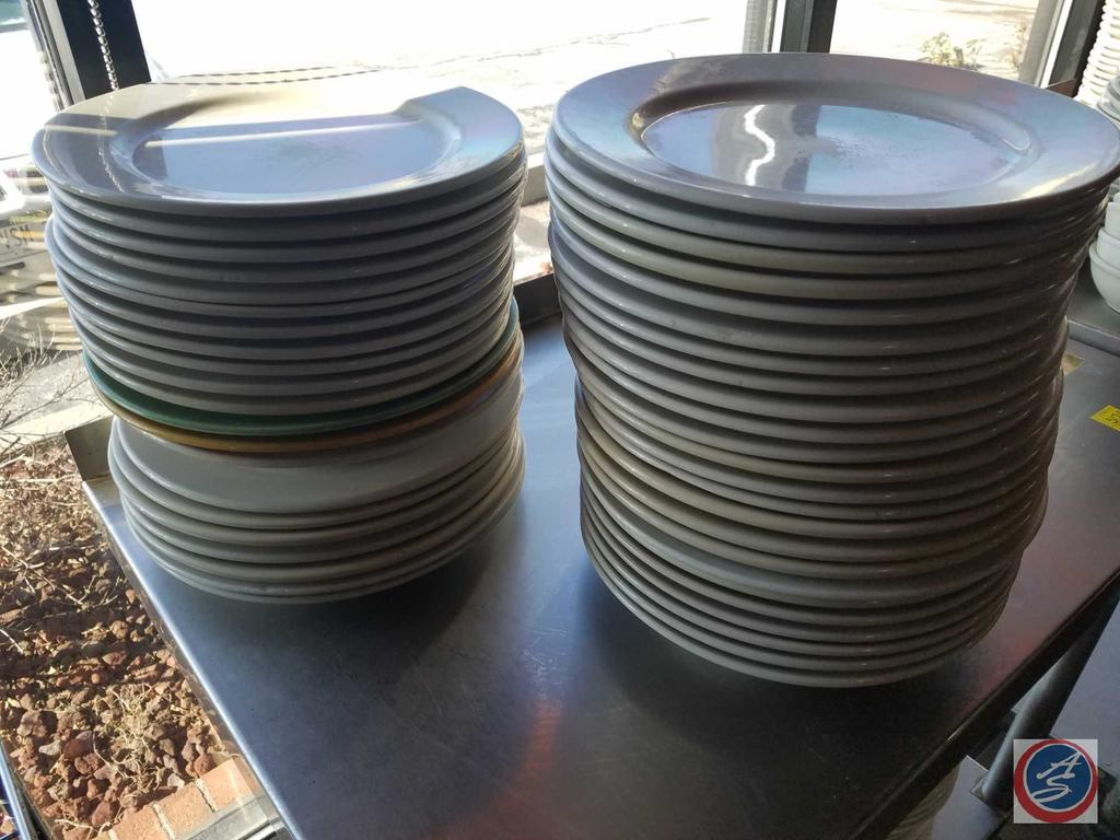 World Ultima China Dinner Plates in Assorted Colors