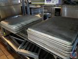 11 Full Sized Baking Sheets, 6 Dishwasher Screens
