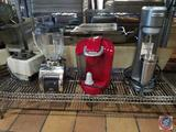 VitaMix Commercial Food Processor (Model VM0100A), Oster Blender, Keurig Single Cup Coffee Maker