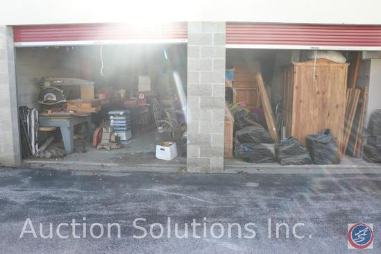 Complete Contents of two [10' x 25'] Unit(s) W1 and W2 {This Double Unit is SOLD 2x THE MONEY}