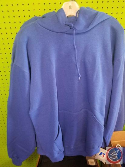 [6] Royal Blue Hoodies Adult Size L