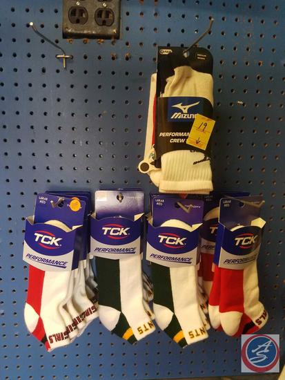 TCK and Mizuno Socks Mens