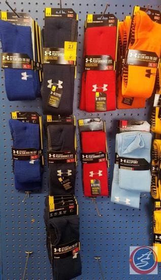 Under Armour Mens Socks Contents of 9Hooks