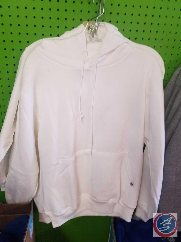 [6] Grey and One White Hoodie Adult Sizes