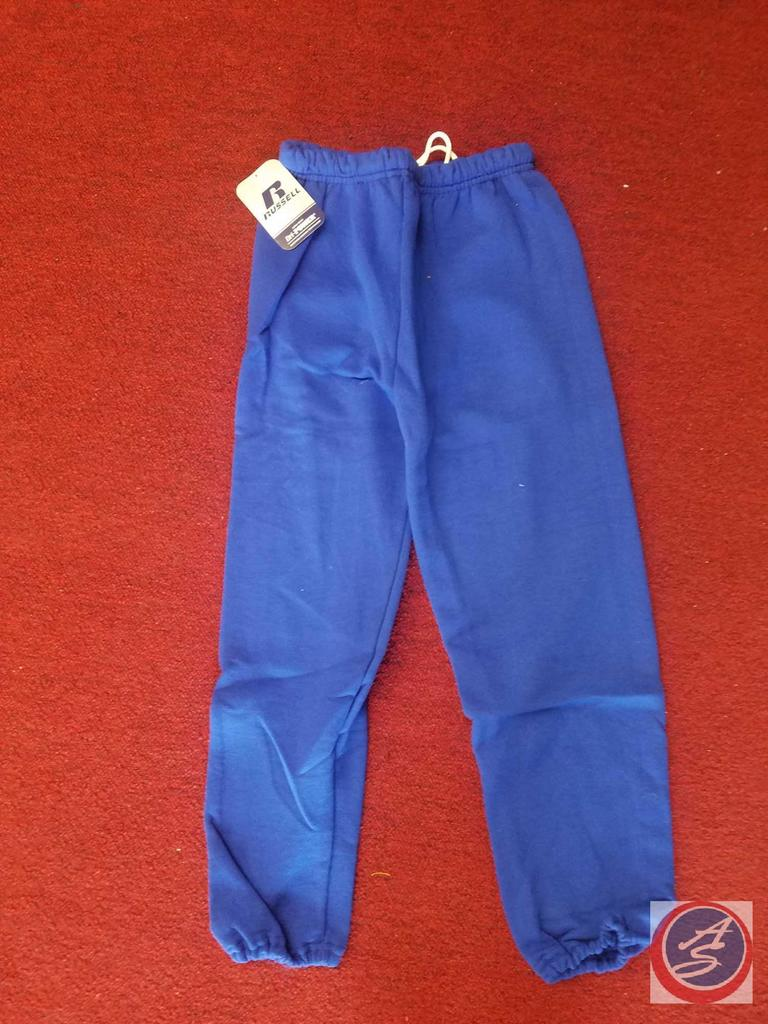 Youth Sized T-Shirts Assorted Colors Approx. 32ct, Youth Sized Assorted Sweat Pants