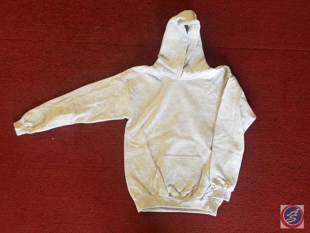 Youth Grey Hoodies and Youth Black Crewneck Sweatshirts