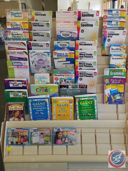Assorted Phonics, Grammar, Language Arts and Activity Encyclopedias For Ages Kindergarten Thru 6th