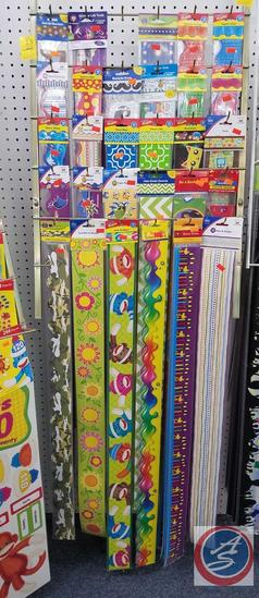 Terrific Trimmer and Boarders Including Sock Monkeys, Woodstock, Camouflage, Flowers and More