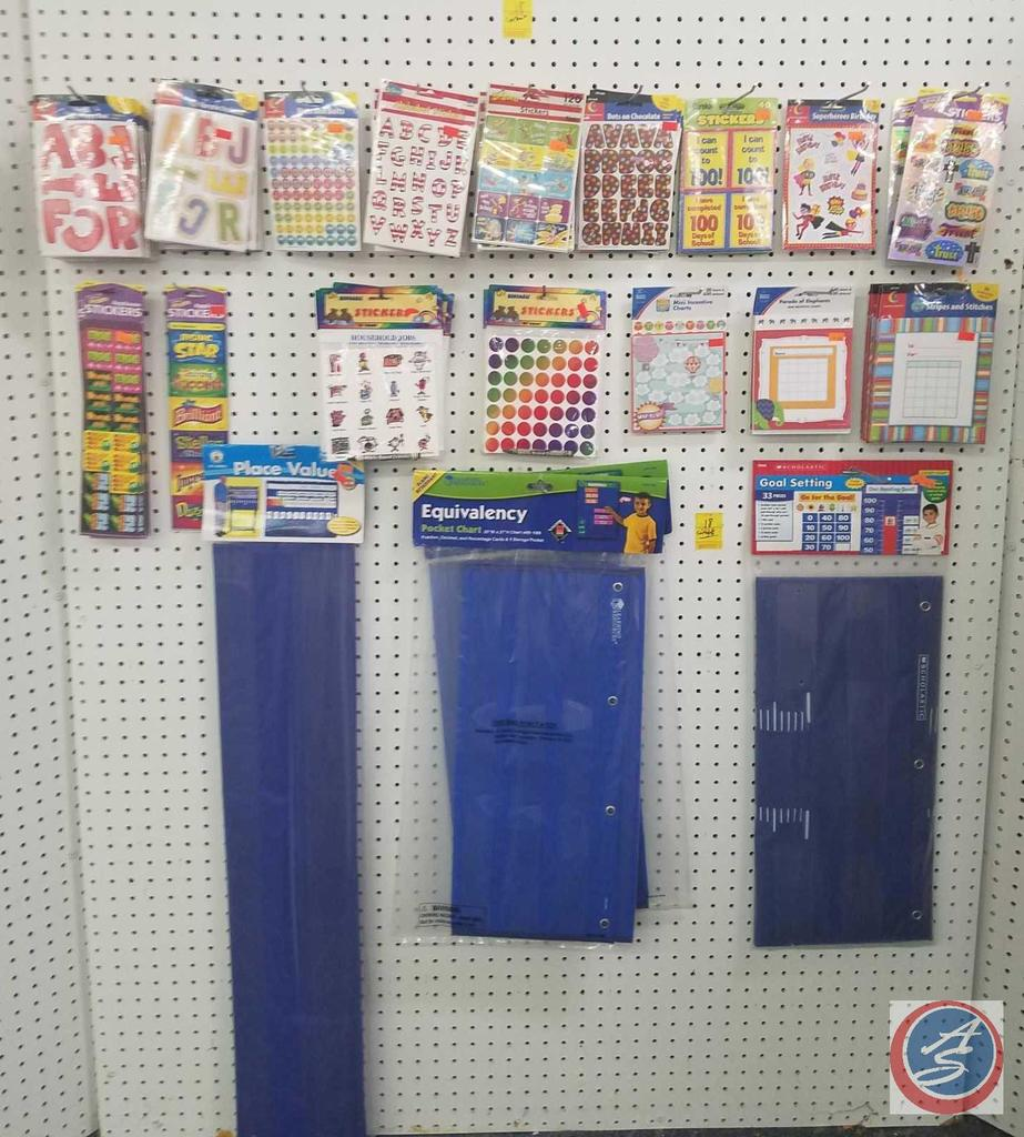 (2) Word of the Week Vocabulary Centers for Grades 3-4, (1) Goal Setting Pocket Chart, (3) 30