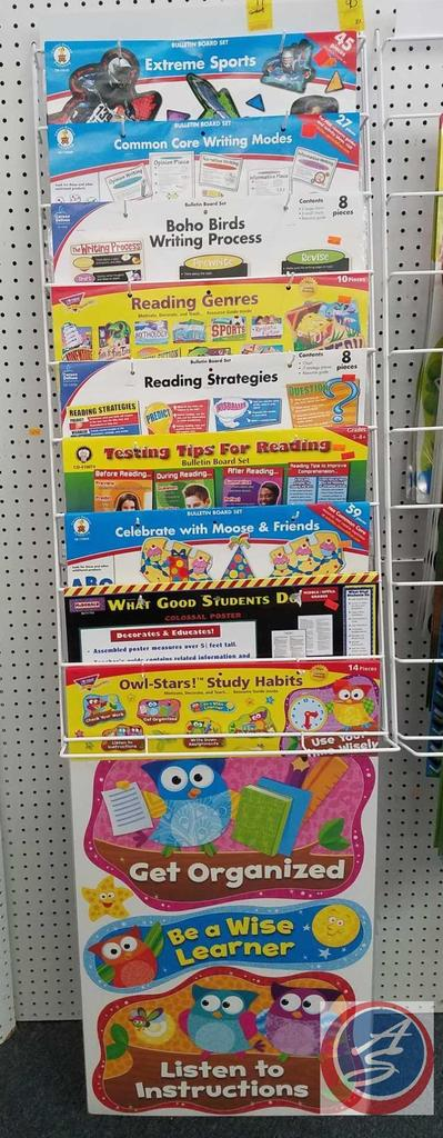 Reading and Writing Strategies Bulletin Boards, Owl Stars Study Habits Bulletin Board, Reading