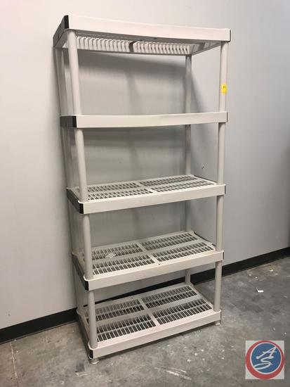 "Storage Shelving 36"" x 18"" x 72"""
