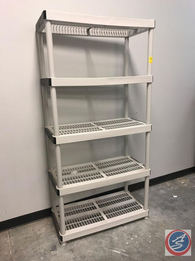 "Storage Shelving 36"" x 18"" x 72"""