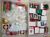 Assorted Keepsake Ornament Including Snowflakes, Angels and More Totes Included