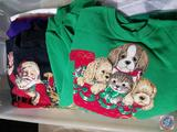 Assorted Holiday Women's Sweaters in Various Sizes