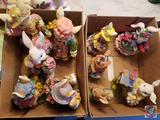 Assorted Large Easter Figurines