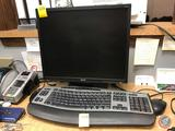Dell Optiplex 380 Tower, Acer Monitor (Model V196L), Microsoft Wireless Keyboard (Serial No.
